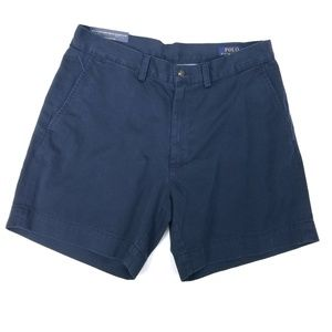 Polo Ralph Lauren Classic Fit Shorts Navy Blue 31